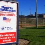 Anthem is in Henderson, Sportstown, USA